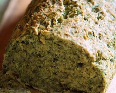 Grün, aber kein bisschen giftig: Spinat-Brot