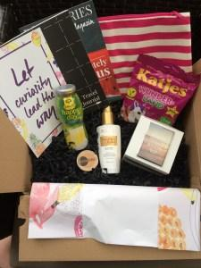 #Passionately Curious – Box Stories -gofeminin – unboxing
