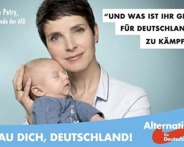 Posterboy Ferdinand soll Frauke Petry Wahlhilfe leisten