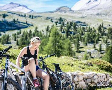 Mountainbiken durch den Naturpark Fannes am Kronplatz