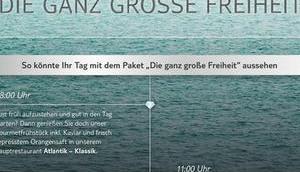 Cruises testet Feinschmecker Paket