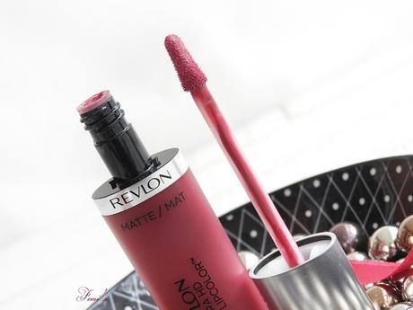 REVLON - ULTRA HD MATTE LIPCOLOR - 610 Addiction Dependance / 655 Kisses Baisers - HIGH DEFINITION