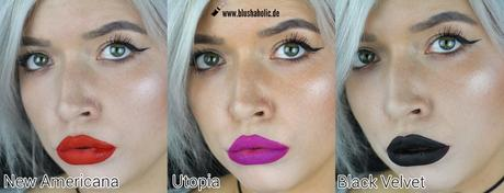 |Lime Crime| New Colours & Swatches