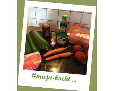 #maju-kocht … Curry – Hähnchen mit Gemüsenudeln