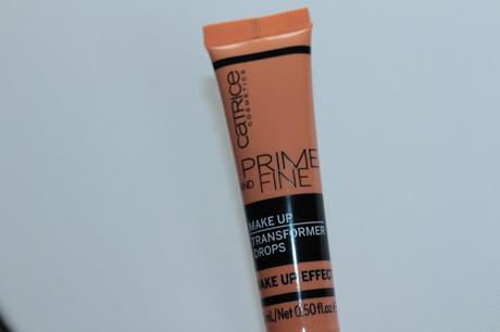 Catrice Cosmetics Prime And Fine Make up Transformer Drops Wake Up Effect