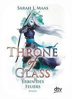 [Rezension] Sarah J. Maas: Throne of Glass 03 - Erbin des Feuers