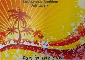Unboxing: Lesekatzen Buchbox #13: Fun in the Sun