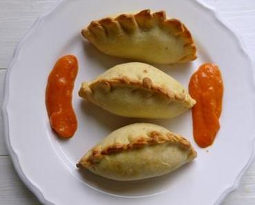 Empanadas mit Hühnchenfüllung