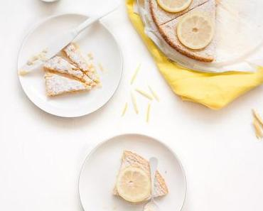 Schwedischer Kladdkaka mal anders – Zitronen-Kladdkaka