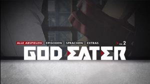 God Eater Volume 1 © KSM Anime,  Ufotable