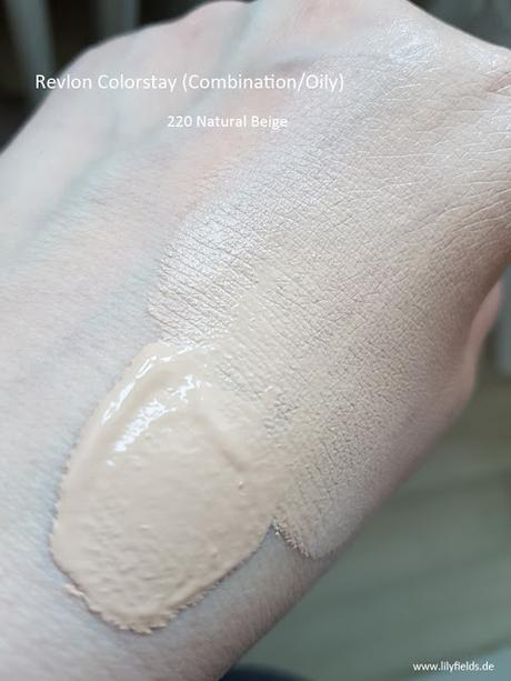 Revlon ColorStay 220 Natural Beige
