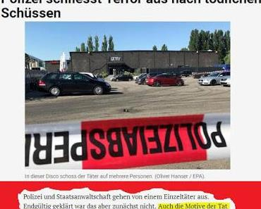 Terrorattentat in Konstanz: Iraker überfällt Disco