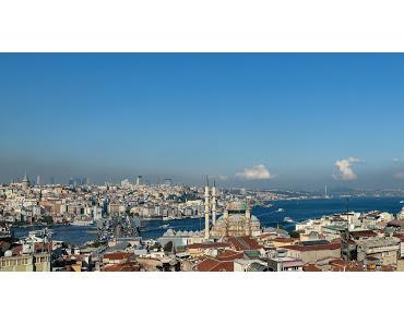 Istanbul Spaziergang - Von der Galatabrücke zum Valens Aquädukt - 1. Teil