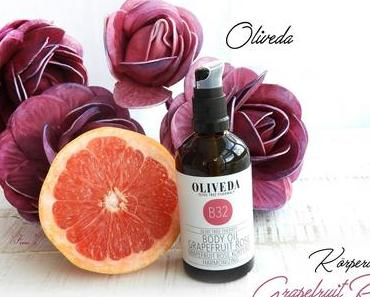 OLIVEDA - B32 Körperöl Grapefruit Rose - Harmonizing          Olive Tree Pharmacy