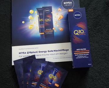 """ Nivea "" Q10plus C Energy Gute-Nacht-Pflege"