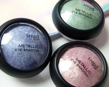 [Swatch] trend IT UP Metallic Eye Shadow 040 050 060