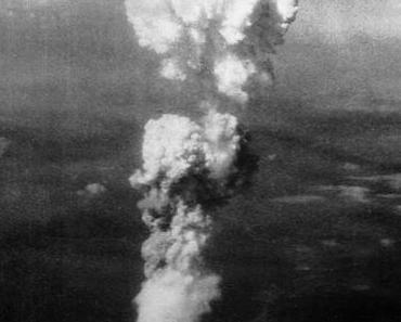 Atombombe Little Boy zerstörte am 6.8.1945 Hiroshima
