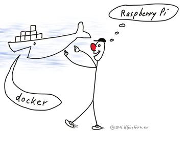 Wie kann ein Raspberry Pi Debian Image via Docker auf dem Mac OS X und unter Eclipse Oxygen laufen?