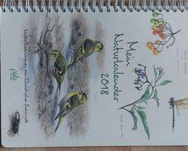 Geschenktipp: Naturkalender 2018 vom pala-Verlag