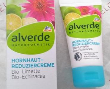 alverde Hornhaut-Reduziercreme Bio-Limette Bio-Echinacea :)