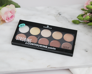 Strobing & Contouring Palette - Essence Sortiments Update Herbst/Winter 2017
