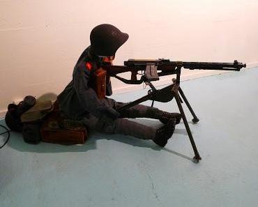 Der Maschinengewehrschütze vom Crestawald