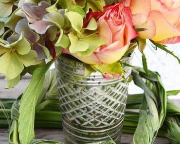 So trocknet ihr Hortensien und Rosen seidig weich