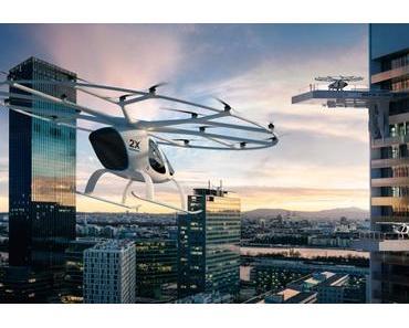 Volocopter: Fliegende Taxis mit Unterstützung von Daimler