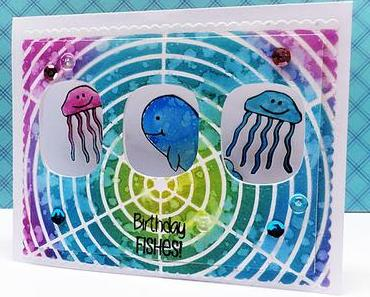 Peek a Boo Card | Distress Oxide Coloring | ++ VIDEO ++