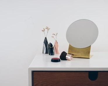 DIY Messingspiegel im minimalistischen Design