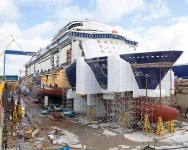 Taufreise und Jungfernfahrt der neuen Mein Schiff 1 beginnt am 11. Mai 2018