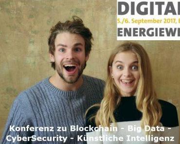 Konferenz Digitale Energiewelt diskutiert Trendthemen wie Blockchain und Künstliche Intelligenz