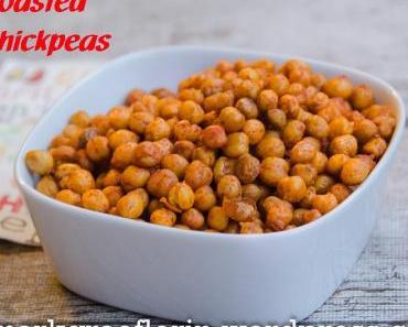 Apéro Knabbereien: Roasted Chickpeas – geröstete Kichererbsen mit geräuchertem Paprika