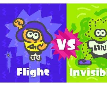 3. Splatfest angekündigt: Fliegen oder Unsichtbar sein?
