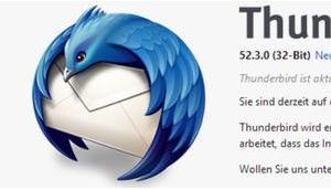 Update 52.3 beseitigt Sicherheitslücken Thunderbird