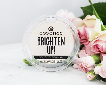 Essence Brighten Up Banana Powder, #Lashes of the Day Mascara & Instant Volume Boost Mascara - Essence Sortiments Update Herbst/Winter 2017