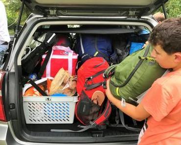 Campingferien: Ich packe in meinen Rucksack…!