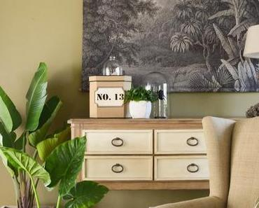 Mein neues Wohnzimmer: gemütlich, grün und mit einer Prise Abenteuer!