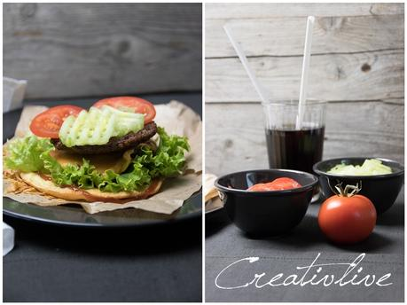 Schneller LOW CARB Burger