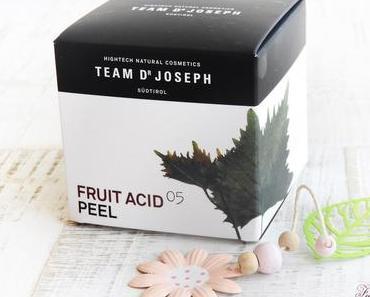 TEAM DR JOSEPH  - FRUIT ACID PEEL - Gesichtspeeling mit bio-aktiven Fruchtsäuren - HIGHTECH NATURAL COSMETIC