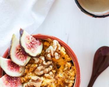 Vegan Monday – Pumpkin Pie Overnight Oats
