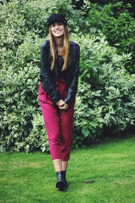 OOTD: Burgundy Pants + Body