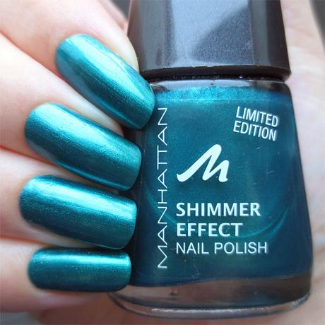 #misslackiert manhattan colour jungle shimmer effect nail polish 017 foggy forest swatch