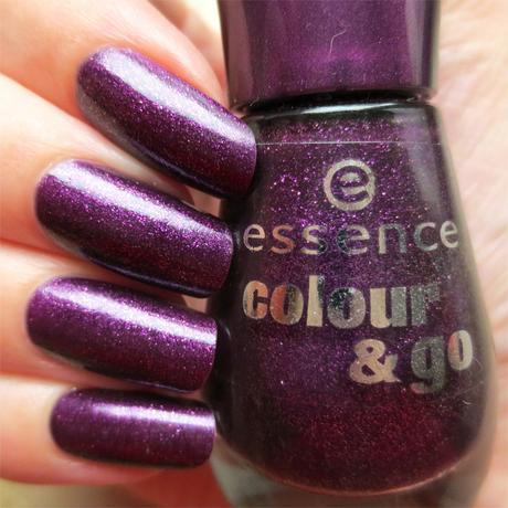 #misslackiert essence colour & go nail polish 193 best dressed swatch