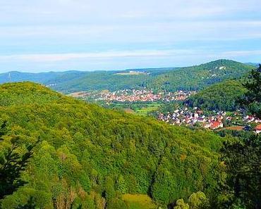 Der 1000 Hoehenmeter Wanderweg Pommelsbrunn