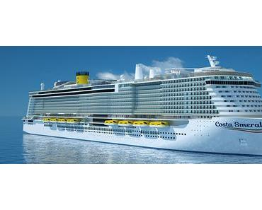 Costa Smeralda- das neue Costa LNG Schiff