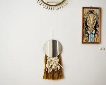 DIY Spiegel mit Fransen