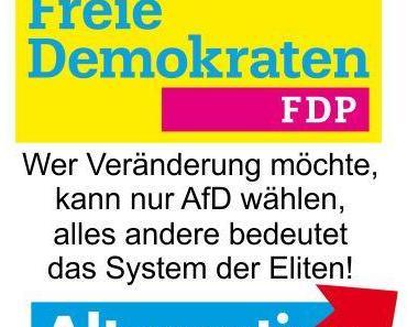 Die FDP als neues Regierungsmitglied, eine grauenhafte Vorstellung