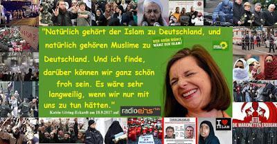 Bundesvorsitzende der Grünen: Ohne Islam wäre es langweilig in Deutschland (Das Aus der selbstbestimmten Reisefreiheit)