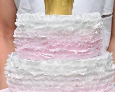 Prinzessin Torte mit Rüschen